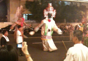 Parade feature at Kaohsiung restaurant