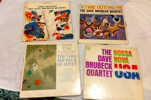 Some covers of the Brubeck et al.  33 rpm LP albums